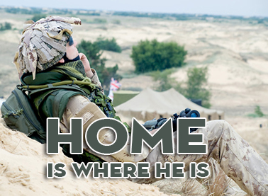 home is where he is