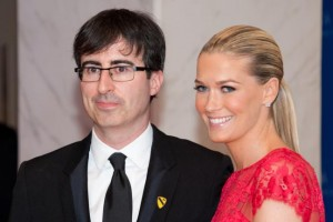 John Oliver Marries US Army medic