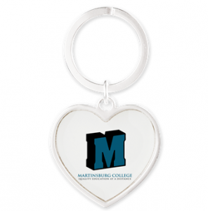 MC HEART KEYCHAIN